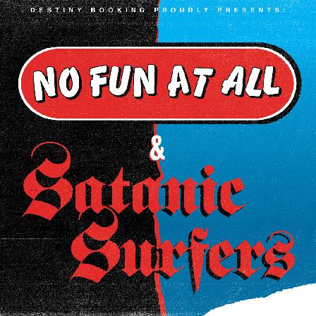 17.01.2021 NO FUN AT ALL and SATANIC SURFERS NACHHOLTERMIN