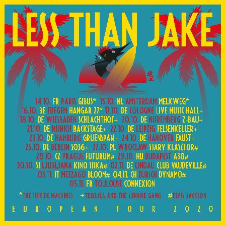 24.10.21 LESS THAN JAKE Nachholtermin
